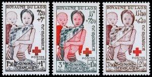 Laos Scott B1-B3 (1953) Mint LH VF Complete Set W