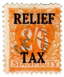 (I.B) Australia - NSW Revenue : Relief Tax 2/6d