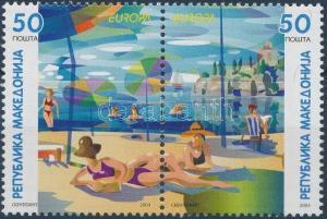 Makedonien stamp Europa CEPT pair MNH 2004 Mi 317-318 WS173117