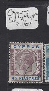 CYPRUS  (PP0208B)  KGV  45PI SG 116  VFU