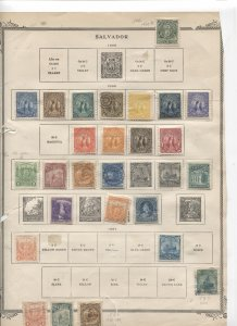 STAMP STATION PERTH- El Salvador #68 Used / Mint  Stamps on Pages - Unchecked