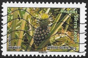 France 4186 Used - Fruits - Pineapple