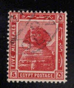 EGYPT Scott 54 Used