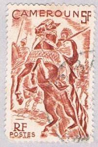 Cameroun 316 Used Lamido Horseman 1946 (BP27316)