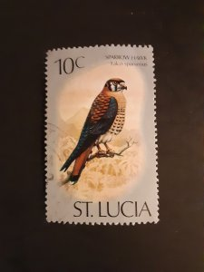 ^St. Lucia #393                 Used