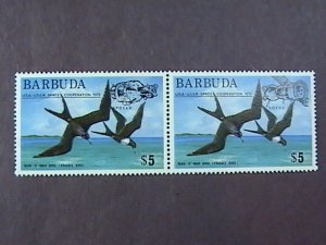 BARBUDA # 213-214-MINT/NEVER HINGED--PAIR--1975
