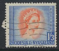 Rhodesia & Nyasaland  SG 10 Used