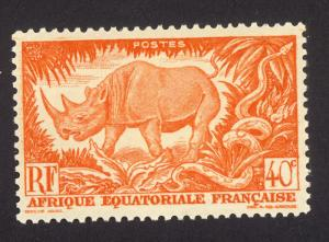 French Equitorial Africa 168 MH