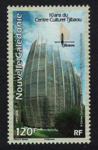 New Caledonia 10th Anniversary of Tjibaou Cultural Centre SG#1443 MI#1457