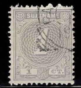 Suriname Scott 17 used 1890 Numeral