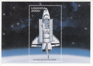 Uganda  MNH Scott # 1486 Souvenir Sheet  SPACE Value $ 4.75  US $$