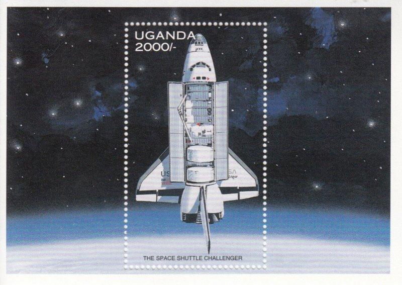 Uganda  MNH Scott # 1486 Souvenir Sheet  SPACE Value $ 4.75  US $$