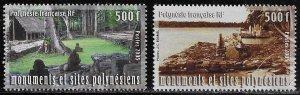 French Polynesia Scott #'s 906 - 907 MNH