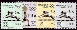 Haiti CB51-CB54 Mint VF SCV$2.10...Such a Deal!