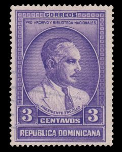 STAMP FROM DOMINICAN REPUBLIC. SCOTT # 313. YEAR 1936. USED. # 1