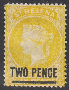 St. Helena 36 MH CV $3.25