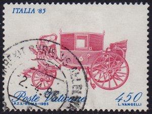 Vatican - 1985 - Scott #766 - used - Coach