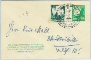 66773 - GERMANY - Postal History - Special POSTAL STATIONERY COVER 1936