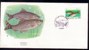 Korea FDC SC# 1418 Eoreumchi Fish L216
