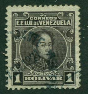 Venezuela 1915 #268 U SCV (2018) = $5.25