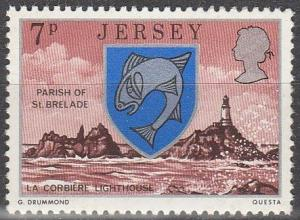 Jersey #141 MNH F-VF (V1653)
