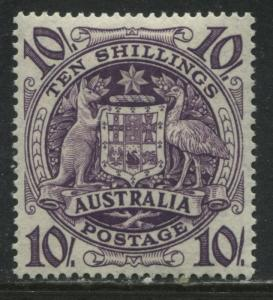 Australia 1949 10/ high value mint o.g.