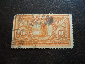 Stamps - Cuba - Scott# E2 - Used  Special Delvery Stamp