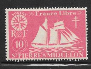 Saint Pierre and Miquelon Mint Never Hinged [4150]