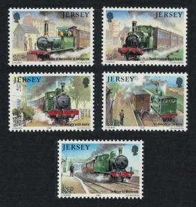 Jersey Rail History 2nd series Jersey Western Railway 5v SG#365-369