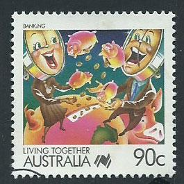 Australia SG 1134  VFU  from FDC
