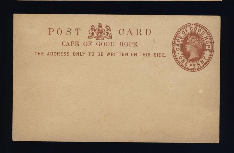 CAPE OF GOOD HOPE - 1882 - 1d POSTAL CARD FINE MINT - (b)