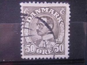 DENMARK, 1934, used 50o, Scott 239
