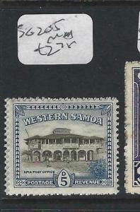 SAMOA  (P0303B)  5D  SG 205   MNH