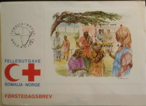 Norway 1987 MS1003 Norweigan Red Cross in Somalia MNH