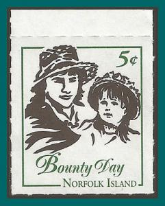Norfolk Island 2001 Bklet, Bounty Day, MNH  #732,SG760