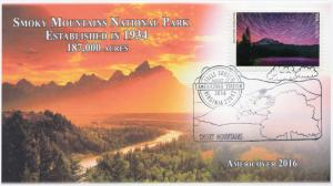 16-412, 2016, Americover, 100 Years, NPS, Pictorial, Smoky Mountains
