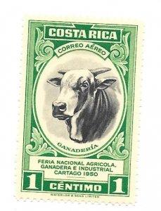 Costa Rica 1950 - Unused - Scott #C197