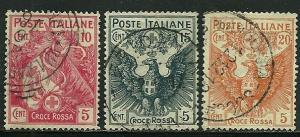 Italy # B1-3, Used  =