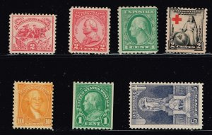 US STAMP 20TH  MH/OG STAMPS COLLECTION LOT