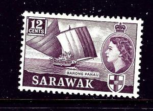 Sarawak 203 MH 1955 Barong Panau   #2