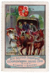 (I.B) Germany Cinderella : The Post Series (Sweden)