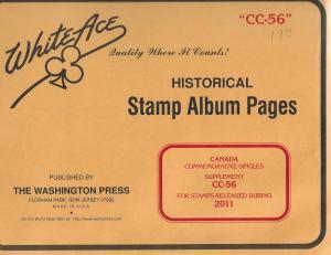 White Ace Canada Commemorative Singles CC56 Supplement 2011