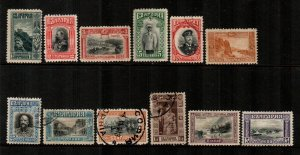 Bulgaria #89-100  Mint & Uesed  Scott $23.10