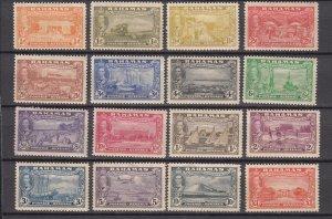 J26647 1948 bahamas mh set #132-47 kgVI views, see details