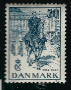 Denmark SC#261 Mint F-VF   ..Scandinavian sweet spot!!