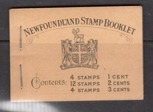 Newfoundland Booklet #2 Extra Fine Mint Complete