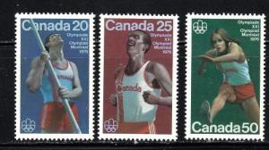 Canada 664-66 NH 1975 Olympics set
