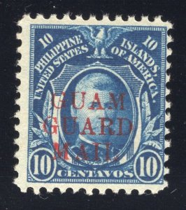 Guam# M11 - 10 Cents, Blue - Guam Guard Mail - Mint - O.G. - N.H.
