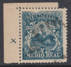 COSTA RICA  An old forgery of a classic stamp...............................D534
