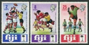 Fiji 330-332,MNH.Michel 303-305. Fiji Rugby Union,60th Ann.1973.